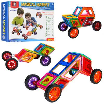 Магнитный конструктор Magical Magnet аналог Magformers 46 деталей (7046А)
