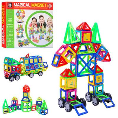 Магнитный конструктор Magical Magnet 198 деталей (706)