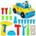 Детская музыкальная Машинка-Конструктор с инструментами (789)