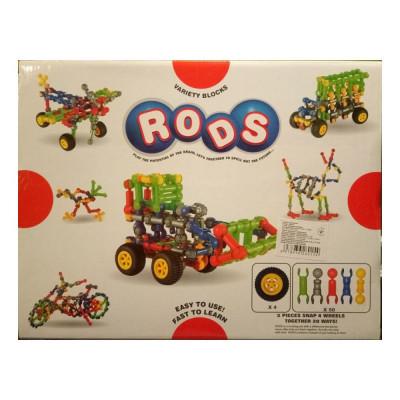Конструктор-палочки RODS (аналог Zoob) 54 детали (826-32)