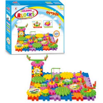 """Детский конструктор """"Шестеренки"""" Building Block 98 деталей (9004)"""