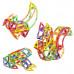 Магнитный конструктор Limo Toy Животные - 89 деталей
