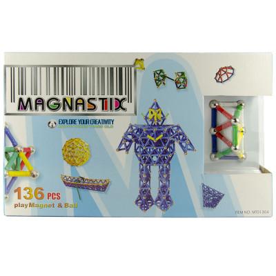 Магнитный конструктор Magnastix 136 деталей (MT01304)