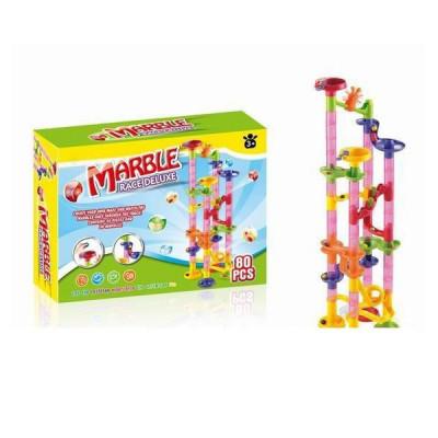 Детский динамический конструктор лабиринт Marble 80 деталей (SPL257766)
