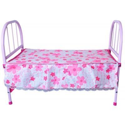 Кроватка для куклы Rong Long (3889) металлическая