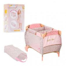 Детская кроватка-манеж для куклы Hauck By Little Diva (Розовый)