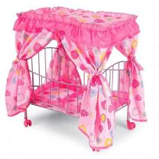 Кроватка для куклы Melogo 9350