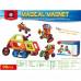 Магнитный конструктор Magical Magnet Транспорт 98 деталей (7098А)