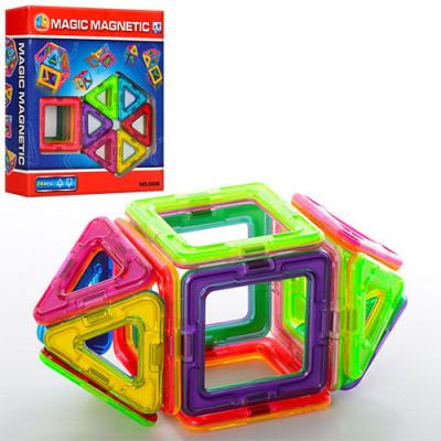 Магнитный конструктор 3D Magical Magnet аналог Magformers 14 деталей (JH6898)