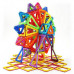 Магнитный 3D конструктор на 102 детали Leqi Toys аналог Magformers (LQ615)