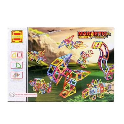"""Магнитный конструктор Magnetic Sheet """"Динозавры"""" 106 деталей (LT2004)"""