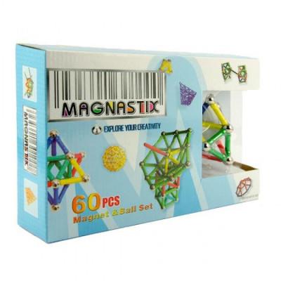 Развивающий Магнитный конструктор Magnastix 60 деталей (MT01301)