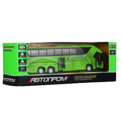 Игрушка Автобус металл АВТОПРОМ, инерционный (7779)