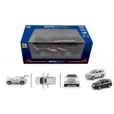 Машина металлическая, 1:24, Toyota Land Cruiser, Auto Expert, звук, свет, ТК Group, EL 6491