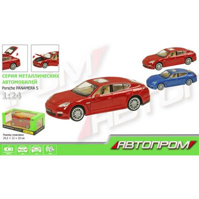 Машинка коллекционная Porsche Panamera S Автопром масш. 1:24 (68245A)