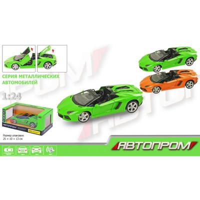 Машина металлическая Lamborghini Автопром, масш. 1:24 (68274A)