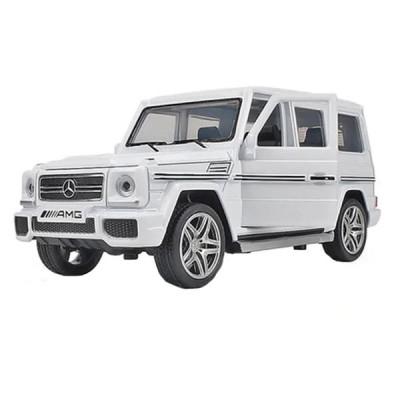 Машинка металлическая Автопром Mercedes-benz G65 AMG Brabus (Матово-белый)