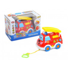"""Пожарная машина """"Play Smart"""", обучающая, звук, свет, 2 режима - рус. и англ. язык, в коробке"""
