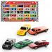 Набор машинок, железные, коллекция гонщика, 25 машинок (МВ 25 №1 (927-25 (х))