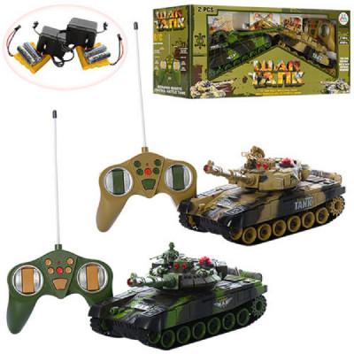 """Комплект танков """"Танковый бой"""" War Tank, гусеничный на радиоуправлении (9993-2PC)"""
