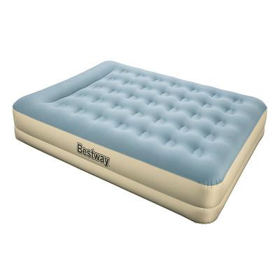 Надувная кровать BestWay Refined Fortech 203х152х33см, встроенный электронасос (69003)