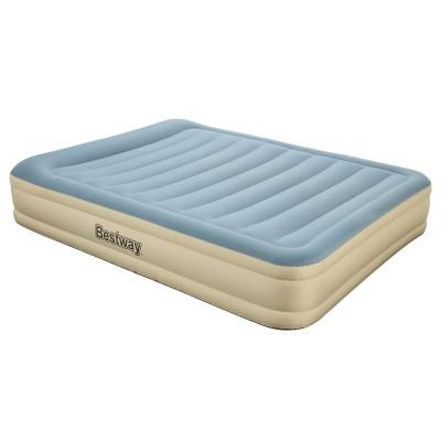 Надувная кровать Bestway Essence Fortech 203х152х36см, встроенный электронасос (69007)