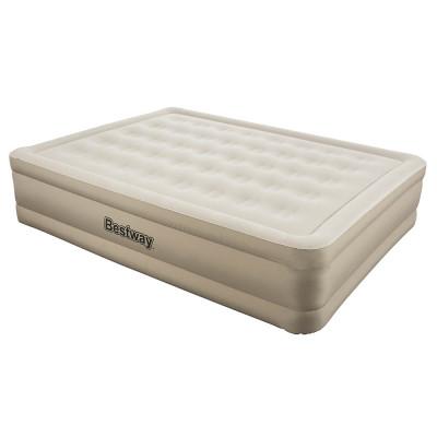 Надувная кровать Bestway Essence Fortech 203х152х43см, встроенный электронасос (69011)