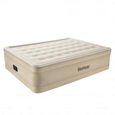 Надувная велюровая кровать Bestway 69024 203х152х51 см