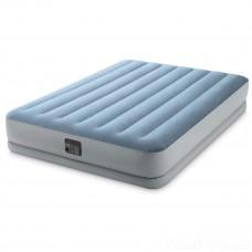 Надувная кровать Intex 64168, 152 х 203 х 36 см, встроеный электро-насос, двухспальная