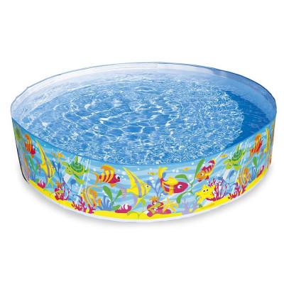 Детский каркасный бассейн Intex Подводный мир (Intex 56452)