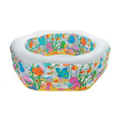 Детский надувной бассейн Intex Аквариум (Intex 56493)