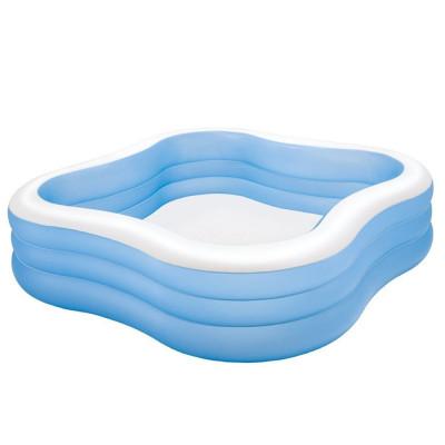 """Детский надувной бассейн Intex """"Акварена"""" Голубой (Intex 57495)"""