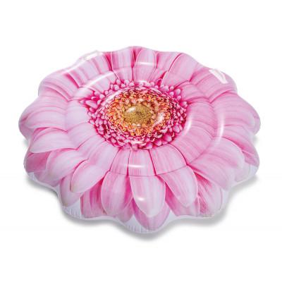 Надувной матрас-плотик Intex 58787 Розовый цветок