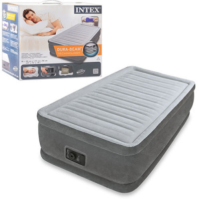 Надувная кровать Intex со встроенным электронасосом (64412)