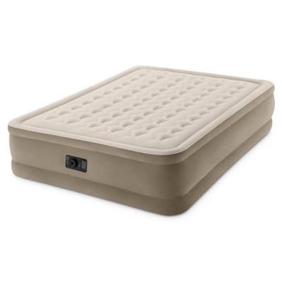 Надувная двухместная кровать Intex Queen Ultra Plush 152х203х46 см (64458)