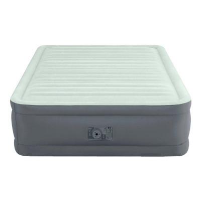 Надувной матрас-кровать Intex со встроенным электронасосом 137х191х46 см (Intex 64904)