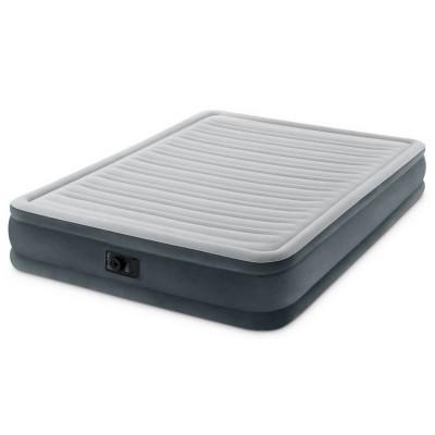 Надувная двуспальная кровать Intex Comfort Airbed With Built-In Electric (67770)