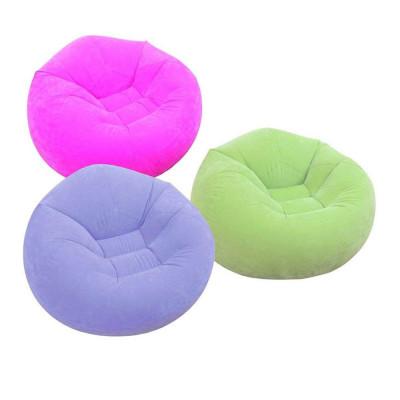 Надувное кресло Intex Beanless Bag Chair 107х104х69 см, 3 цвета (68569)
