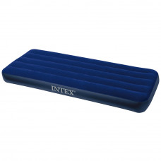 Велюровый надувной матрас Intex 64756 (76х191х25см)