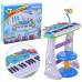 Детское пианино-синтезатор Joy Toy на ножках со стульчиком Синий (7235)