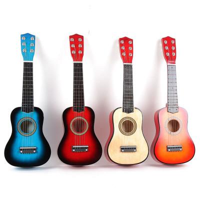 Детская струнная гитара, с медиатором и запасной струной (M 1370)