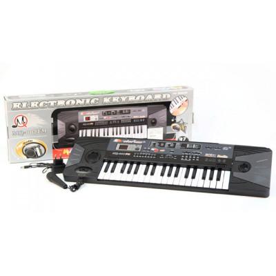 Детское пианино синтезатор с микрофоном и радио (MQ 007 FM)