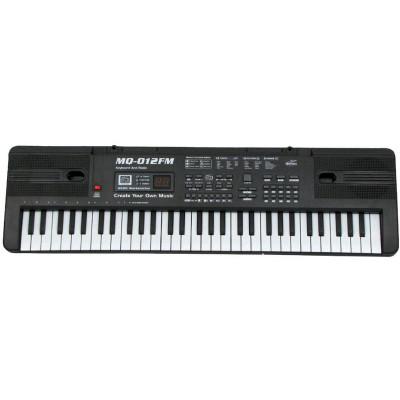 Детское пианино синтезатор с радио+ микрофон (MQ 012 FM)