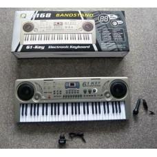 Детское пианино синтезатор 61 клавиша MQ6168