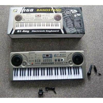 Детское пианино синтезатор 61 клавиша (MQ6168)