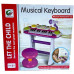 Детский синтезатор-пианино стульчик+микрофон (BB 335 D)