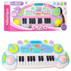Детский синтезатор (Розовый, Голубой)