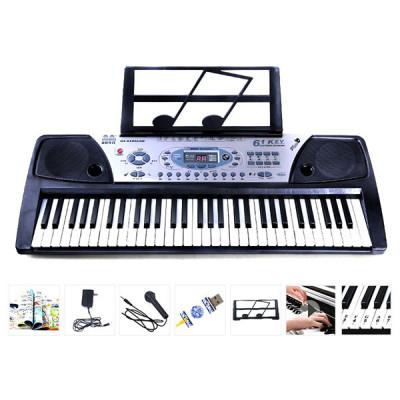 Детский электронный синтезатор MQ-810USB