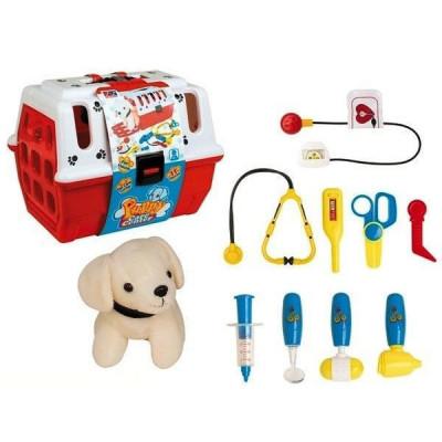 Игровой набор Доктора Собачка в переноске чемодане