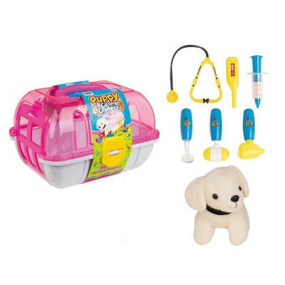 """Детский игровой набор """"Маленький Доктор"""" с чемоданчиком, собачкой (251)"""